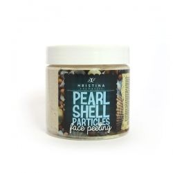 PEELING PEARL SHELL PARTICLES