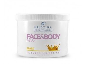 Face and Body Mask Gold