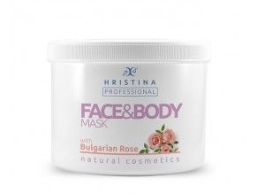Face and Body Mask Bulgarian Rose
