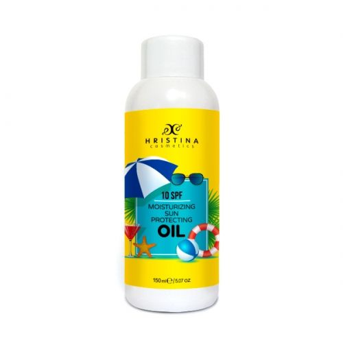SUN SCREEN OIL 10SPF – low protection