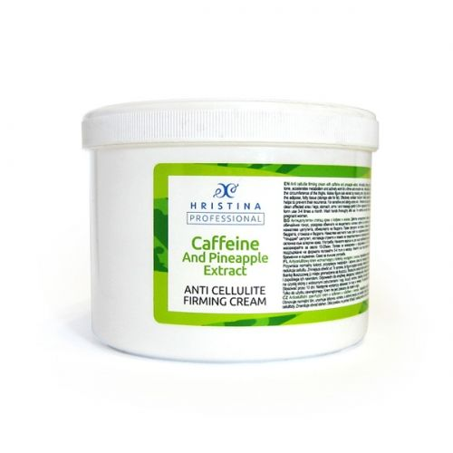 ANTI CELLULITE FIRMING CREAM WITH CAFFEINE AND PINEAPPLE