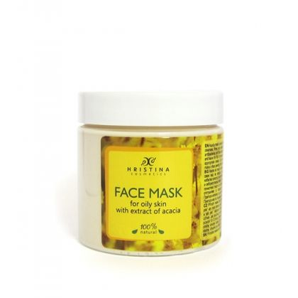 Mask for Oily Skin with Extract of Acacia