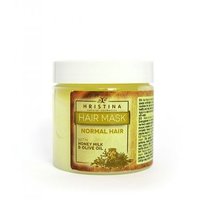 Hair Mask for Normal Hair with Honey, Milk and Olive Oil